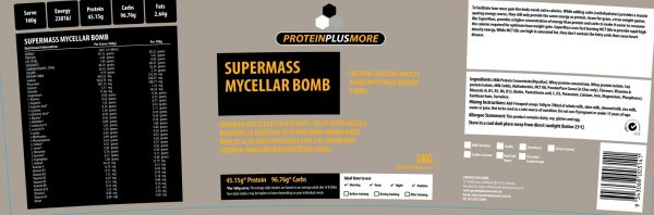 supermass label